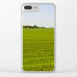 grass or cereals, Clear iPhone Case