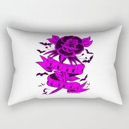 PURPLE GOTH GIRL Rectangular Pillow