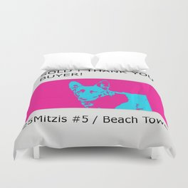 SOLD! thank you buyer, 25Mitzis #5 Duvet Cover