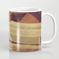 bible verses Mugs featuring Bible by KimberosePhotography