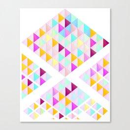 Pastel arrow Canvas Print