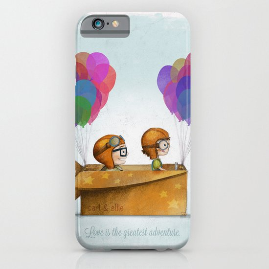 UP Pixar— Love is the greatest adventure  iPhone & iPod Case