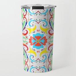 Ornamental Flourish Travel Mug