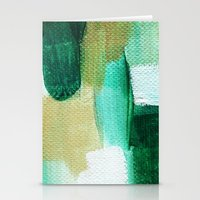emerald Stationery Cards featuring Emerald by Patricia Vargas