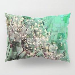 Fresh Dandelions Mosaic Pillow Sham
