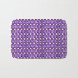 beauty products violet . art Bath Mat