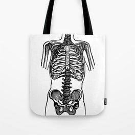 Bones. Tote Bag