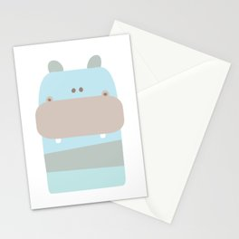 Baby Hippopotamus Stationery Cards