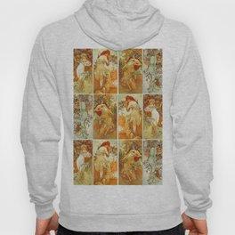 """Alphonse Mucha """"The Seasons (series)"""" (1896) Hoody"""