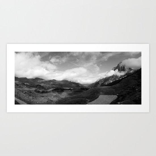 Grosse Scheidegg Art Print
