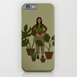 Plant Mom iPhone Case
