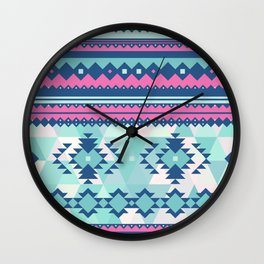 Aztec #1 Wall Clock