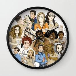OITNB Fanart Wall Clock