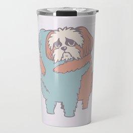 Shih Tzu Hugs Travel Mug