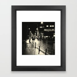 Night Train v2 Framed Art Print