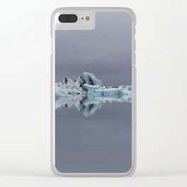 Made of ice Clear iPhone Case