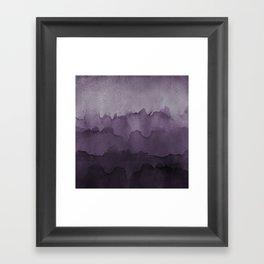 Amethyst Wash Framed Art Print