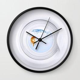 (Very) Clean Goldfish Wall Clock
