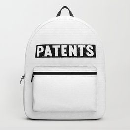 Patents Backpack