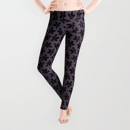 Vampire bats pattern Leggings