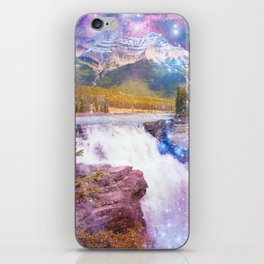 Waterfall and Mountain iPhone Skin