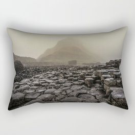 The land of mountains and stones Rectangular Pillow