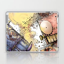 LOVE ME LIKE A PSYCHO ROBOT Laptop & iPad Skin