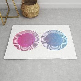 Universe and Galaxies Rug