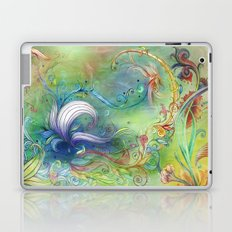 Floral High Laptop & iPad Skin