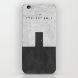Twilight Zone Concept Poster iPhone Skin