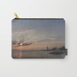 Sunbeams at Annisquam lighthouse Carry-All Pouch