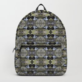 Peekamoose Waterfall Rocks Pattern Backpack