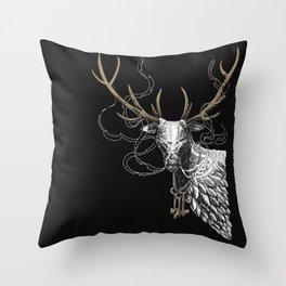 Oh Deer! Light version Throw Pillow