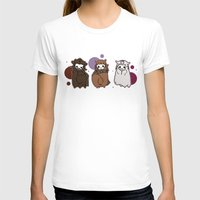 nori T-shirts featuring Dwarpaca family #3 by Lady Cibia