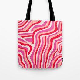 pink zebra stripes Umhängetasche