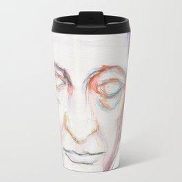 Goethe death mask Travel Mug