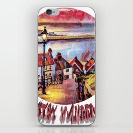 Wandering Whitby iPhone Skin