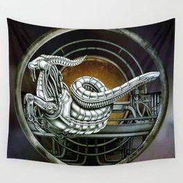 """Astrological Mechanism - Capricornus"" Wall Tapestry"