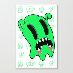 Ghosting Canvas Print