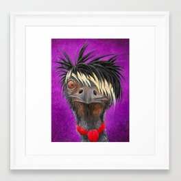 Emu Framed Art Print