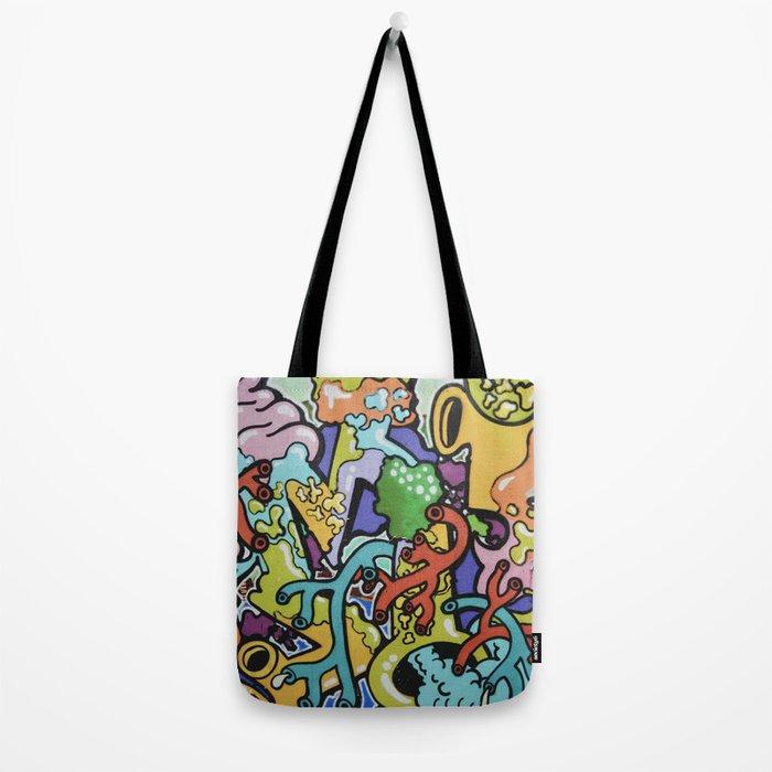 Street art form Tote Bag