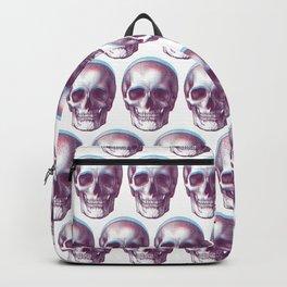 duotone vintage skull Backpack