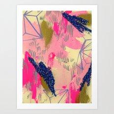 faded w my ladies Art Print