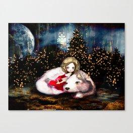Houndling Canvas Print