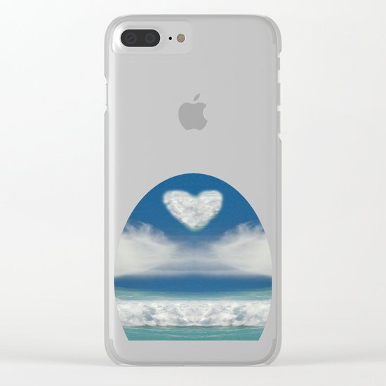 Wild Atlantic Clear iPhone Case