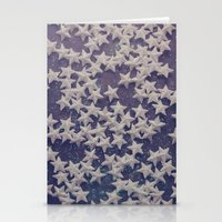 starry night Stationery Cards featuring Starry Starry Night (1) by Karin Elizabeth