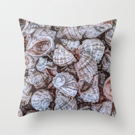 Puka Seashells Throw Pillow
