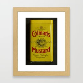 Colman's Mustard Framed Art Print