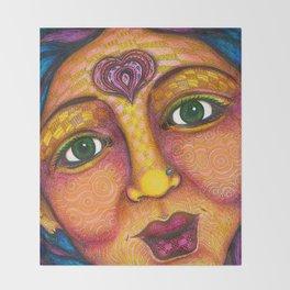 Wisdom Keeper Color #22 (Grace) Throw Blanket
