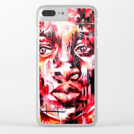 COLLECTIVE MASTERPIECE Clear iPhone Case